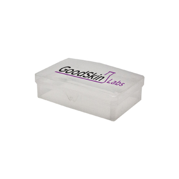 100447 - Clear Hinged Soap Dish