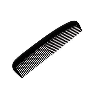 """1241002 - 5"""" Black Comb"""