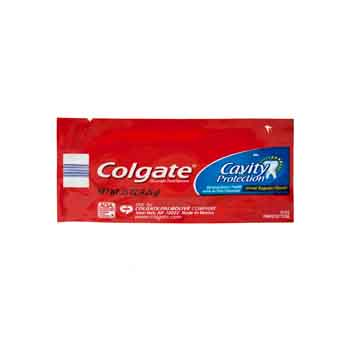 1271004 - Colgate Cavity Protection Toothpaste Packet