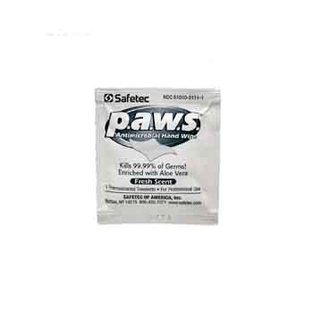 134400ST - Safetec P.A.W.S. Antimicrobial Hand Wipe