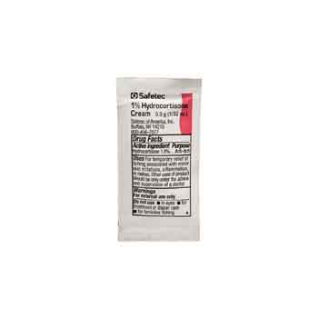 153104ST - Safetec 1% Hydrocortisone Cream Packet