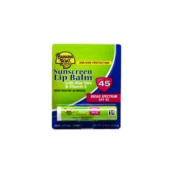 1881004 - Banana Boat Lip Balm SPF 45 (0.15 oz.)