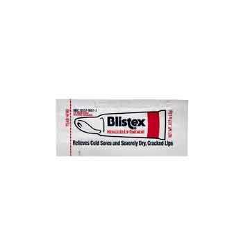 188107 - Blistex Medicated Lip Ointment Packet