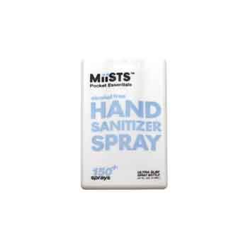 MS002 - Miists Pocket Essentials Hand Sanitizer Spray (0.37 oz.)