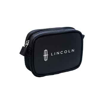 TR115 - Black Compact Amenity Bag