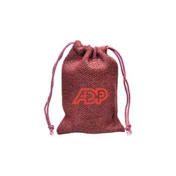 TR1160 - Medium Natural Jute Drawstring Bag