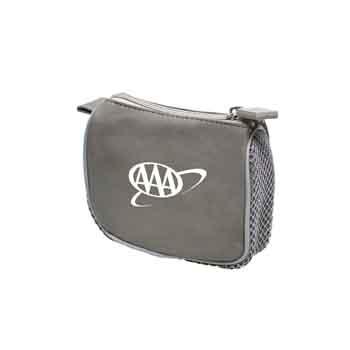TR118 - Gray Compact Amenity Bag