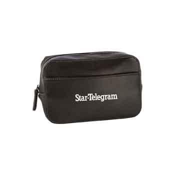 TR419 - Bonded Leather Dopp Bag