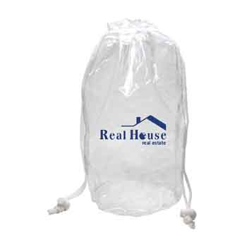 TR440 - Large Clear Drawstring Bag