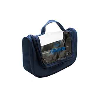TR515 - Clear View Hanging Toiletry Bag