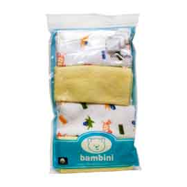 Bambini New Born Wash Cloth Set