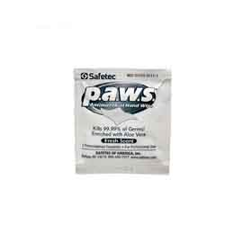 Safetec P.A.W.S. Antimicrobial Hand Wipe