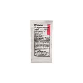 Safetec 1% Hydrocortisone Cream Packet