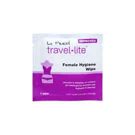 La Fresh Female Hygiene Wipe