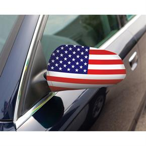 MirroFlag Vehicle Mirror Covers - Stock US Flag Design