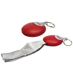 Micro Fiber Cleaning Cloth Keychain
