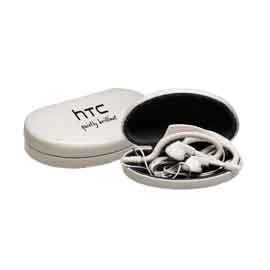 Earphones in Convenient Case