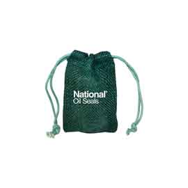 Small Natural Jute Drawstring Bag