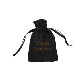 Medium Faux Suede Drawstring Pouch