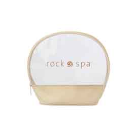Clear Circular Amenity Bag
