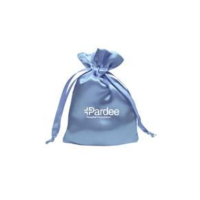 Small Trendy Satin Drawstring Pouch