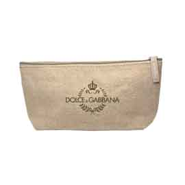 Jute Zipper Amenity Bag