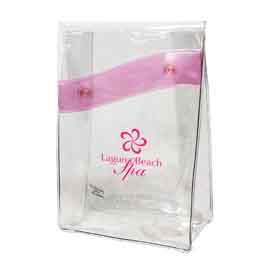Rainbow Clear Cosmetic Bag