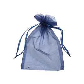 Large Organza Drawstring Pouch
