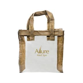 Natural Jute Mini Tote